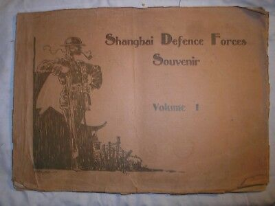 Shanghai Defence Force British Indian Army China Volunteer Corps  History