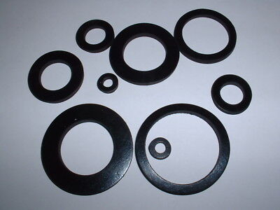 3Mm Extra Thick Epdm Rubber Flat Round Ring Washer Seal Gaskets 12Mm - 80Mm Od