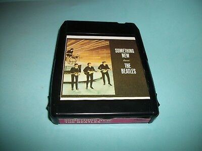 The Beatles  Something New  -  8 Track Tape  Capitol 8Xt 2108 - Nice - Tested