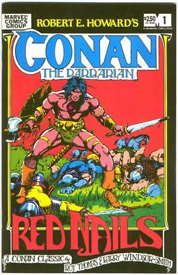 Conan The Barbarian Special Edition Red Nails 1 Barry Smith Marvel Bronze Bin
