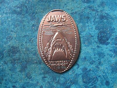 JAWS UNIVERSAL STUDIOS Elongated Penny Pressed Smashed 25