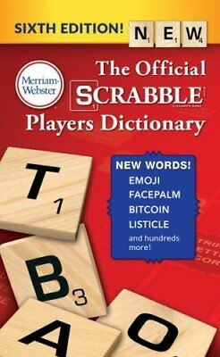The Official SCRABBLE Players Dictionary, Sixth Edition  (Mass Paperback