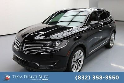 2017 Lincoln MKX Reserve Texas Direct Auto 2017 Reserve Used Turbo 2.7L V6 24V Automatic AWD SUV
