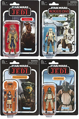 Star Wars The Vintage Collection 3.75 Inch Figure (2018 Wave 4) - Set of 4
