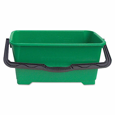 "Unger QB220 6 gallon Pro Bucket Fits 18""Washer, Green with Black Handle"