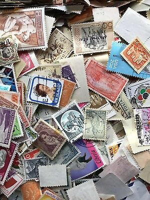 Mixed Collection Of 1000 Stamps Worldwide Off Paper