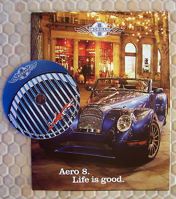 Morgan Official Aero 8 Sales Brochure And Promotional Dvd 2004 Usa Edition