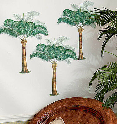 Palm Trees 3 Large Wall Murals Anna Griffin  Wallies Wall Decals Stickers Decor