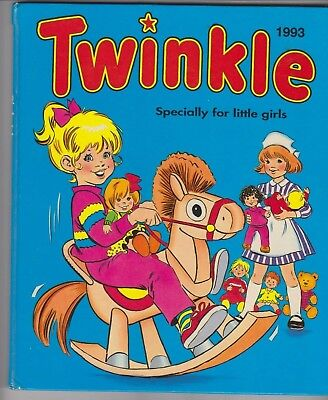 Vintage TWINKLE ANNUAL 1993 Specially for Little Girls