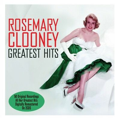 Rosemary Clooney GREATEST HITS Best Of 50 Essential Songs COLLECTION New 2 CD