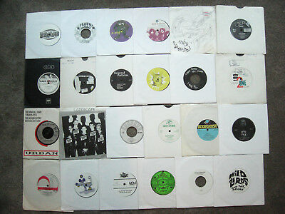 "25 GARAGE ROCK,PUNK,INDIE,SYNTH 45s * Collection / Job Lot x 25 7"" 45s"