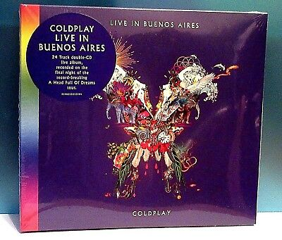 Coldplay   Live In Buenos Aires   2 Cd Set - Released December 2018  Bn & Cs