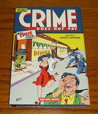 Crime Does Not Pay Archives Volume 4, DAMAGED, Dark Horse Comics hardcover, Biro
