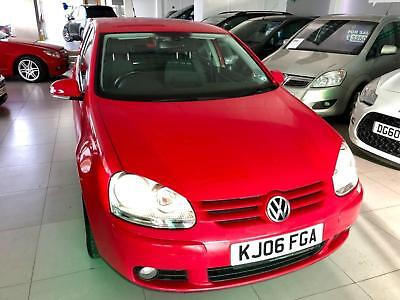2006 VOLKSWAGEN GOLF GT FSI Red Manual Petrol - 2 Keys - 8 VW Service Stamps