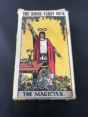 Vintage 1971 The Rider-Waite Tarot Deck Cards US Games Systems NO INSTRUCTIONS