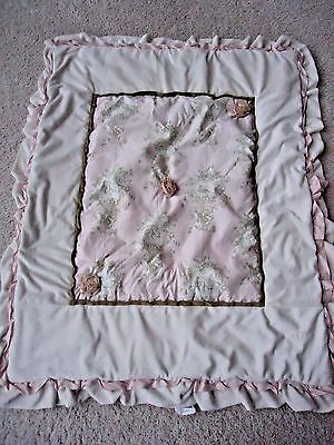 Cotton Tale Crib Blanket Pink