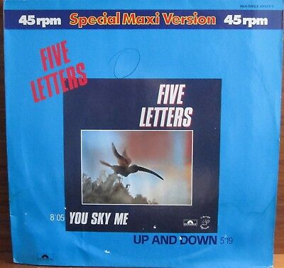 Maxi-Single - Five Letters = You Sky Me / Up And Down ....................1982