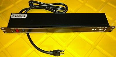 Holland Electronics HAC-10RK 10 Outlet Power Strip Standard Rack-Mounted