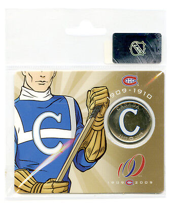 2009 Canada Montreal Canadiens 50 Cent Half Dollar In Original Rcm Ogp Packaging