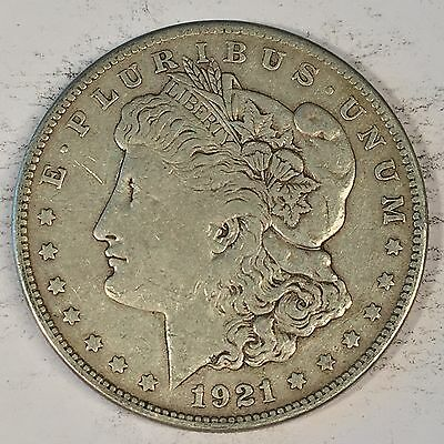 1921-S Morgan Silver Dollar - Check the  High Quality Scans #C449