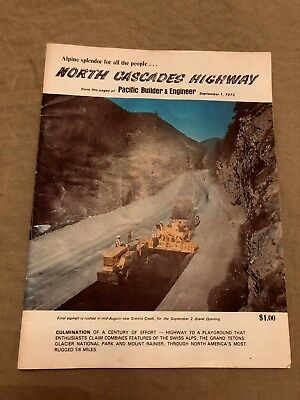 Pacific Builder & Engineer - North Cascades Highway Dedication - 1972
