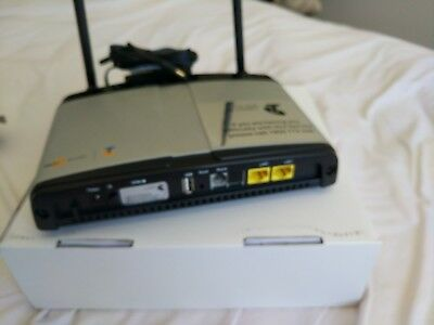 NetComm Telstra Turbo 7 Wireless Gateway. 3G Modem router and 2 point Ethernet