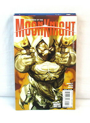 VENGEANCE OF THE MOON KNIGHT #1-10 Complete Set Lot Marvel 2009 1st Prints