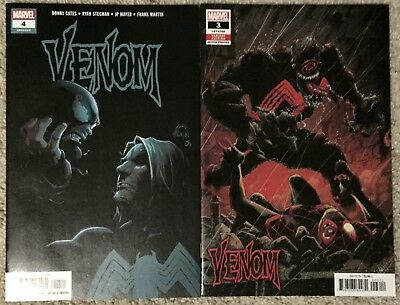 Venom 3 & 4 2018 Donny Cates 1st Appearance & Origin of Knull NM 9.4