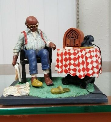Annie Lee Figurine Daily Snooze/African American Art Liquidation Sale!!!!!