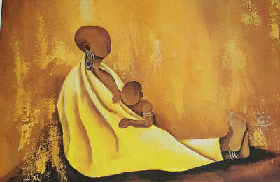 African American Art Annie Lee First Mother Print