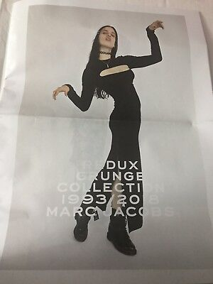 Marc Jacobs Redux Grunge Collection 1993-2018 Paper 24 Page Insert