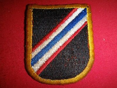 US 46th SPECIAL FORCES COMPANY 1st SFGrp In Thailand Beret Patch