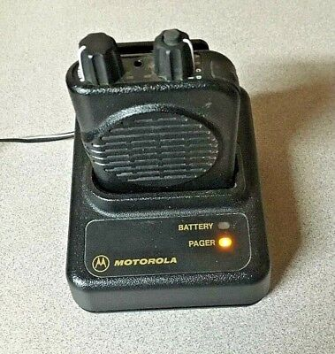 Motorola Minitor IV (4) A04KUS9239BC UHF 2-Channel Pager 470-475.999 MHz