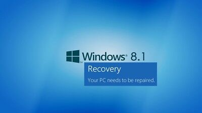 NEW Sealed Dell Windows 8.1 Recovery Media 64-Bit for Windows 8.1 Products 0RGH4