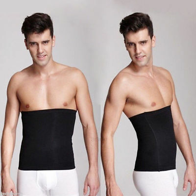 Men Abdomen Fat Burner Corset Beer Belly Body Shaper Slimming Waist Trimmer Belt