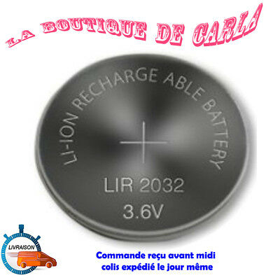 Pile bouton ML2016 Li-ion lithium rechargeable 3V battery Accus coin battery