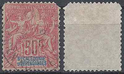 Colony New Caledonia N°51 - Postmark Stamp Has Date - Value