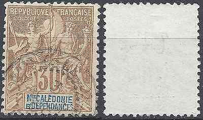 Colony New Caledonia No.49 - Obliteration Stamp Has Date - Value