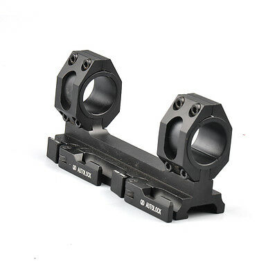 US Quick Release 25-30mm Ring 20mm Picatinny Rail QD Scope Mount for rilfe Hunt