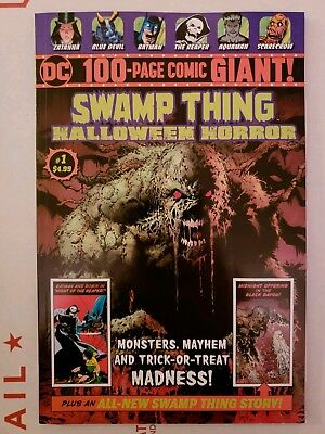 Swamp Thing #1 Halloween Horror Walmart Exclusive Giant Dc