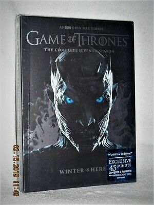 Game Of Thrones The Complete Seventh Season 7th (DVD, 2017, 5-Disc) medieval NEW