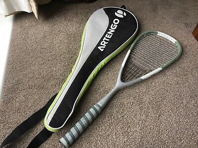 Artengo Eight Series Squash Racket In grey.