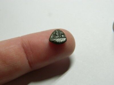 Tiny Un - Researched Roman Bronze minim coin Emperor ? metal detecting detector