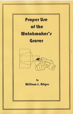 Proper Use of Watchmaker's Graver - How to CD - Book -