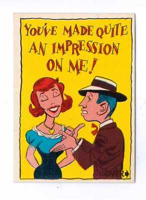 1961 Donruss Idiot Card #48 You Made An Impression On Me Nm