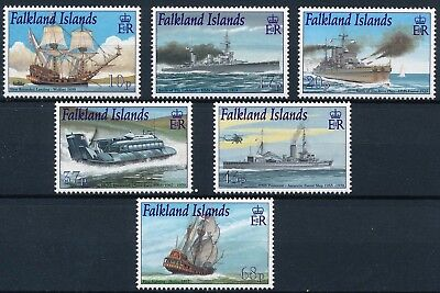 [H11440] Falkland Islands 2001 : Boats - Good Set Very Fine MNH Stamps - $20