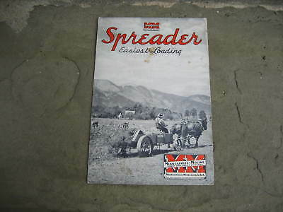 1941 Minneapolis-Moline Spreader Brochure