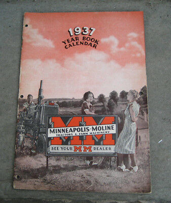 1937 Minneapolis-Moline Year Book & Calendar