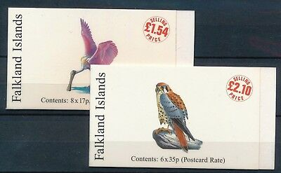 [H11666] Falkland Isl 1998 : Good Set of 2 Very Fine MNH Complete Booklets