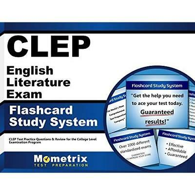 Clep English Literature Exam Secrets Study Guide Clep Test Review